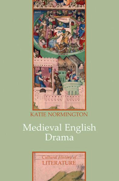 Medieval English Drama - Coverbild