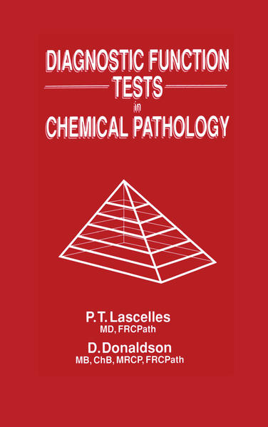 Diagnostic Function Tests in Chemical Pathology - Coverbild