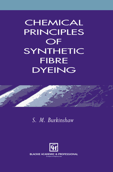 Chemical Principles of Synthetic Fibre Dyeing - Coverbild