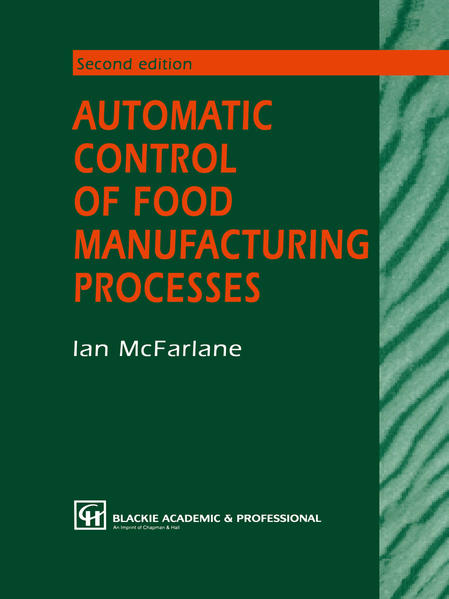Automatic Control of Food Manufacturing Processes - Coverbild