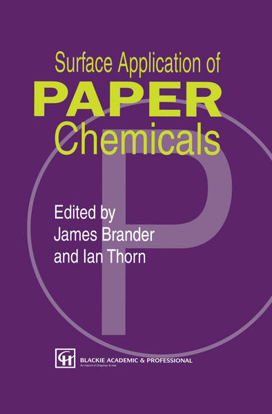 Surface Application of Paper Chemicals - Coverbild