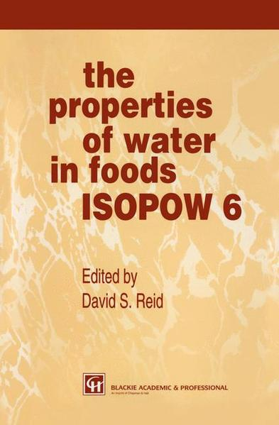 The Properties of Water in Foods ISOPOW 6 - Coverbild
