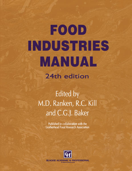 Food Industries Manual - Coverbild