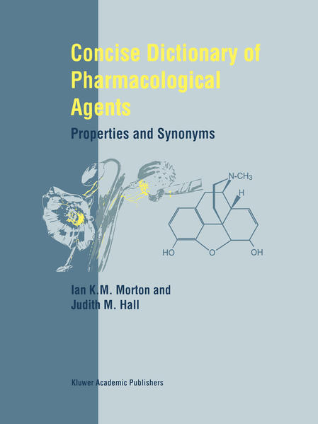 Concise Dictionary of Pharmacological Agents - Coverbild