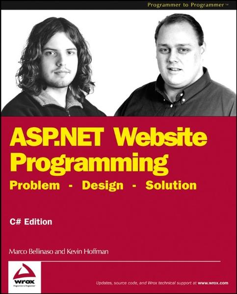 ASP.NET Website Programming - Coverbild