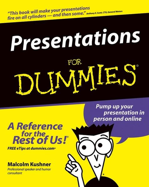 Download PDF Kostenlos Presentations For Dummies