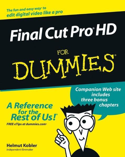 Final Cut Pro HD For Dummies - Coverbild