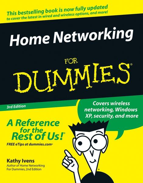 Home Networking For Dummies - Coverbild