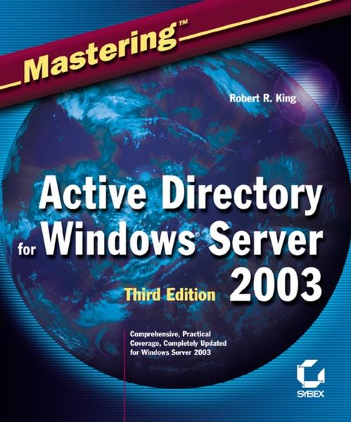 Mastering Active Directory for Windows Server 2003 - Coverbild