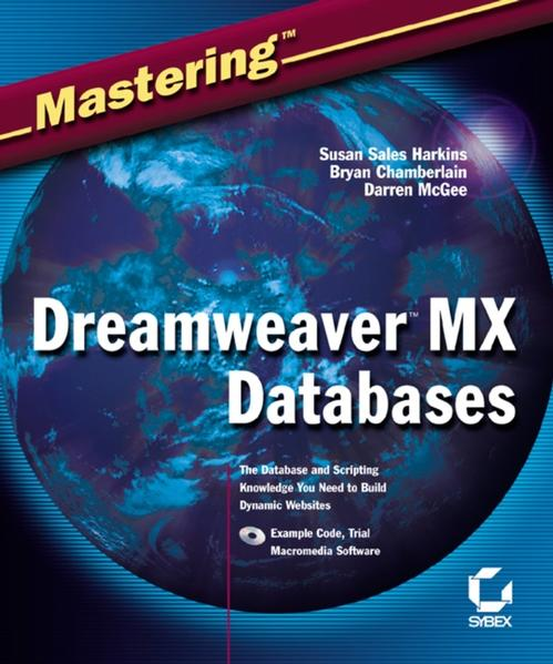 Mastering Dreamweaver MX Databases - Coverbild