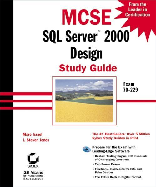 MCSE SQL Server 2000 Design Study Guide - Coverbild