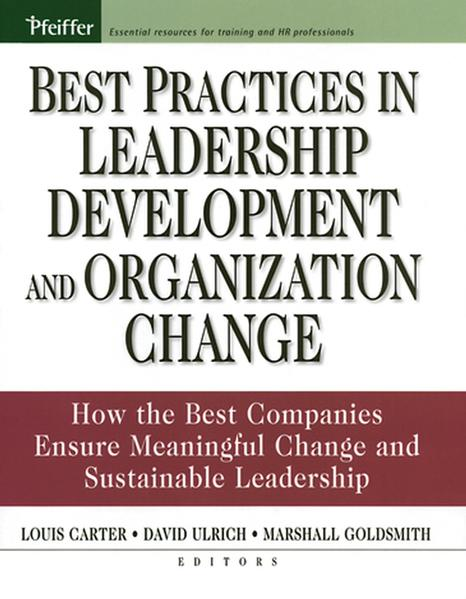Best Practices in Leadership Development and Organization Change - Coverbild