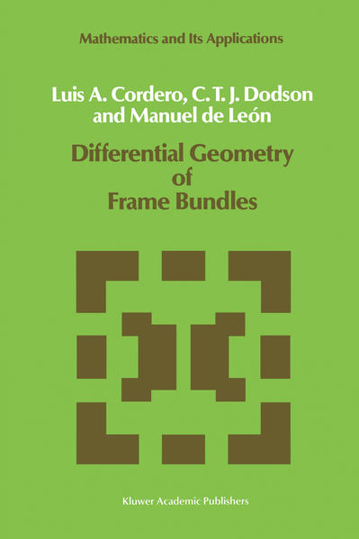 Differential Geometry of Frame Bundles - Coverbild