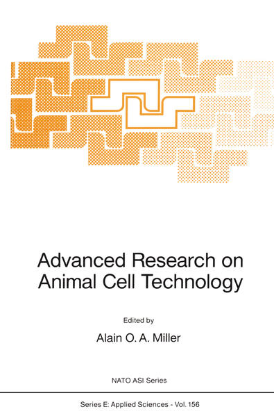 Advanced Research on Animal Cell Technology - Coverbild