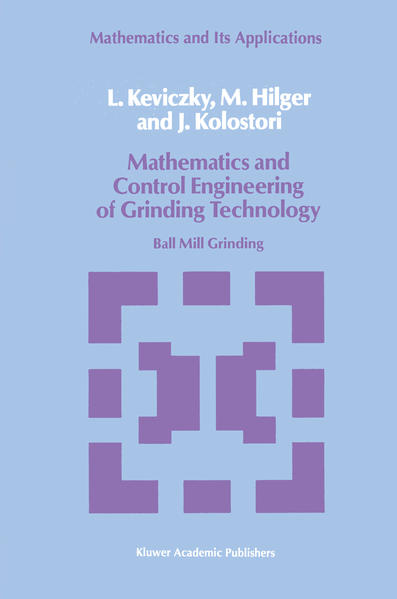 Mathematics and Control Engineering of Grinding Technology - Coverbild