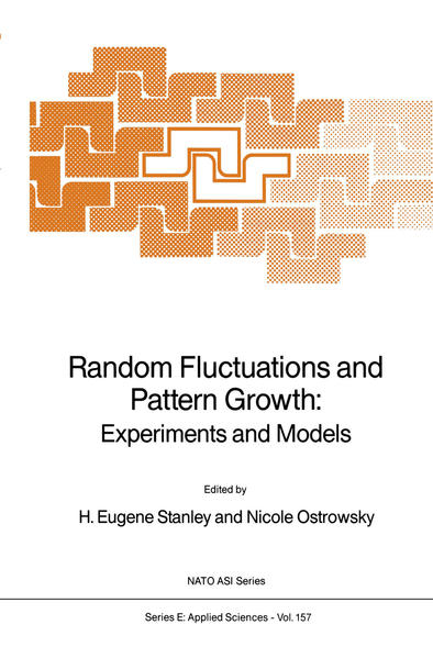 Random Fluctuations and Pattern Growth: Experiments and Models - Coverbild