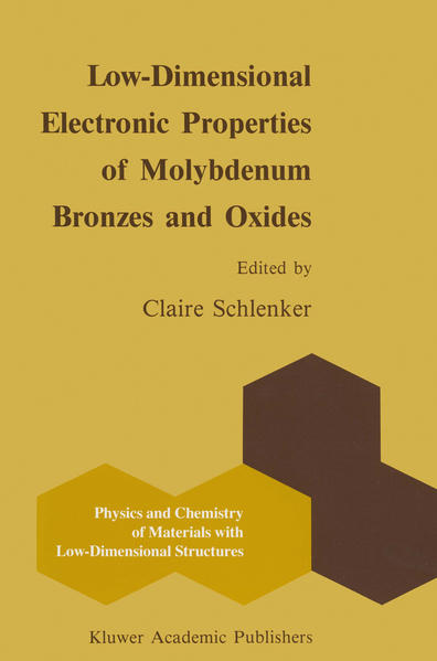 Low-Dimensional Electronic Properties of Molybdenum Bronzes and Oxides - Coverbild