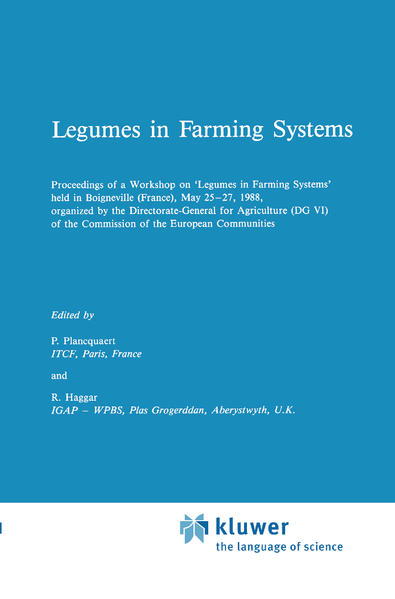 Legumes in Farming Systems - Coverbild