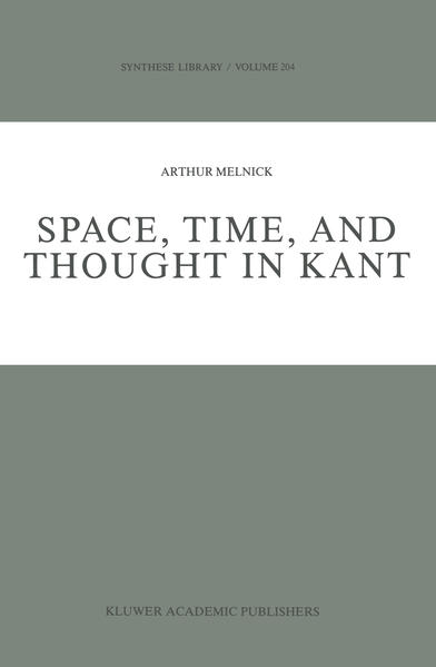 Space, Time, and Thought in Kant - Coverbild