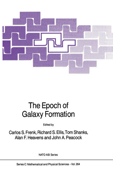 The Epoch of Galaxy Formation - Coverbild