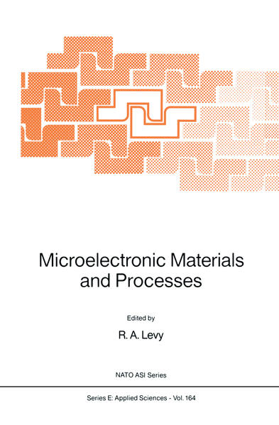 Microelectronic Materials and Processes - Coverbild