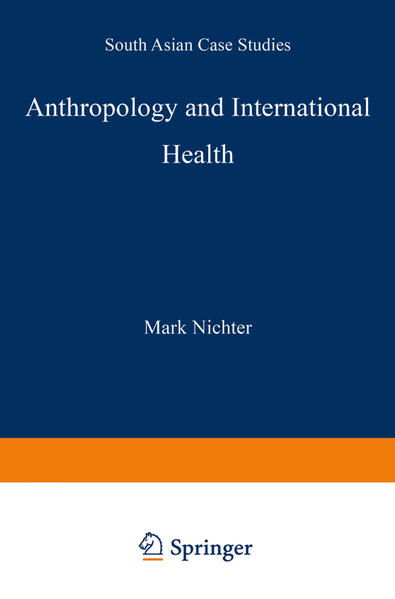 Anthropology and International Health - Coverbild