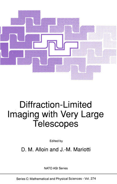 Diffraction-Limited Imaging with Very Large Telescopes - Coverbild
