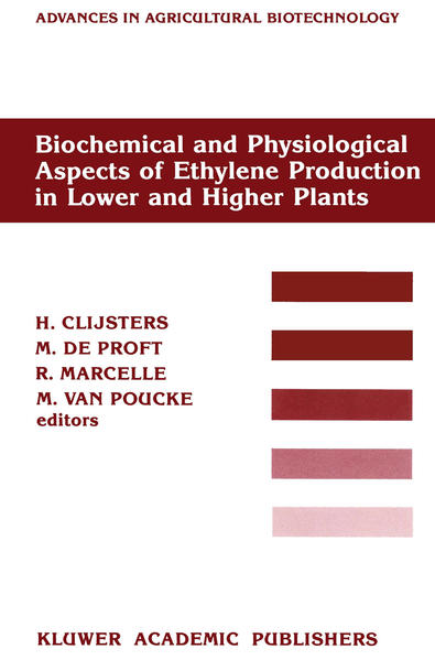 Biochemical and Physiological Aspects of Ethylene Production in Lower and Higher Plants - Coverbild