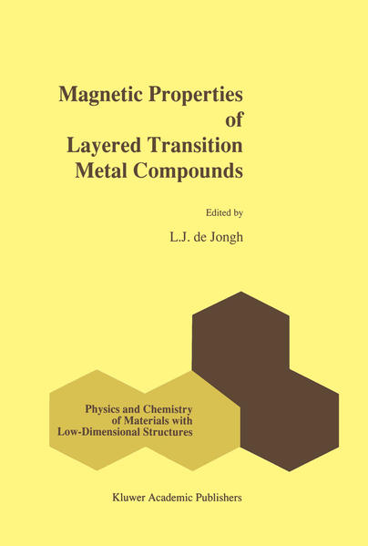 Magnetic Properties of Layered Transition Metal Compounds - Coverbild
