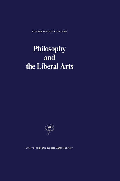 Philosophy and the Liberal Arts - Coverbild