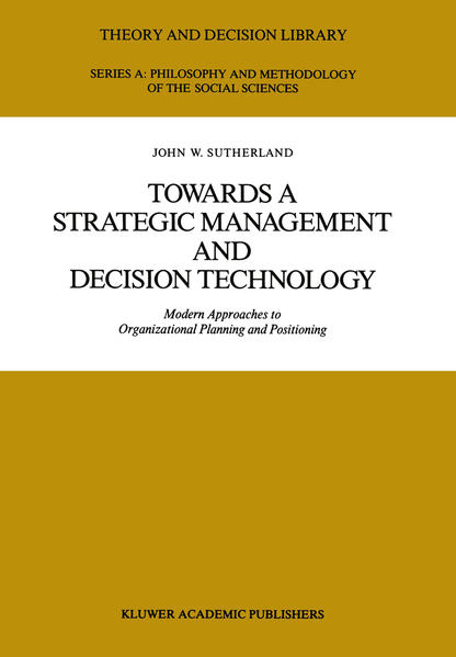 Towards a Strategic Management and Decision Technology - Coverbild