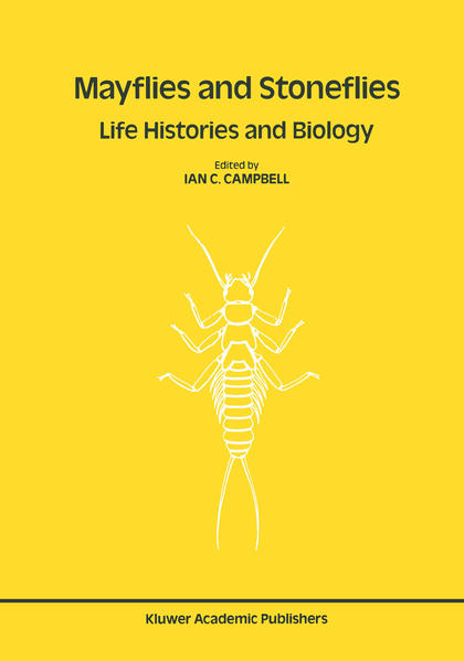 Mayflies and Stoneflies: Life Histories and Biology - Coverbild