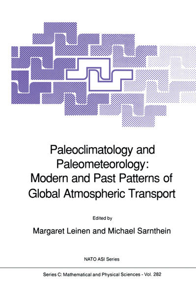 Paleoclimatology and Paleometeorology: Modern and Past Patterns of Global Atmospheric Transport - Coverbild