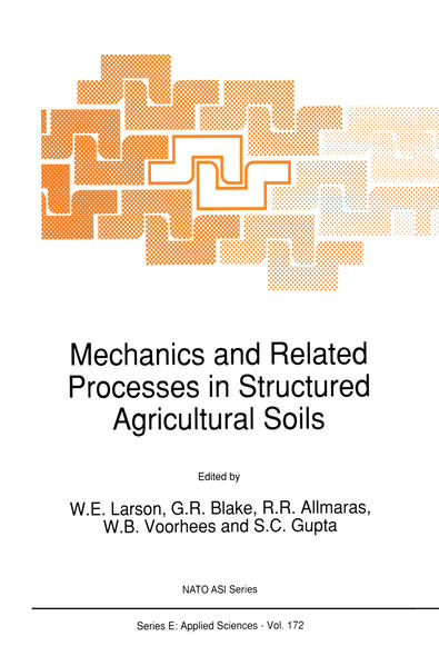 Mechanics and Related Processes in Structured Agricultural Soils - Coverbild