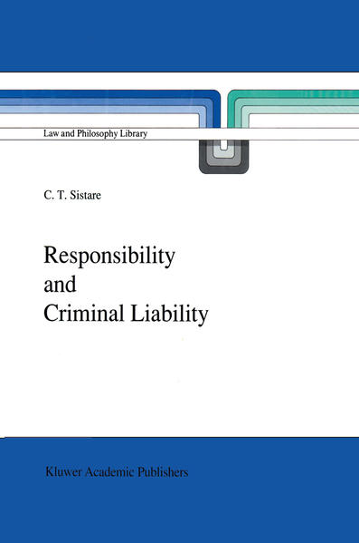 Responsibility and Criminal Liability - Coverbild