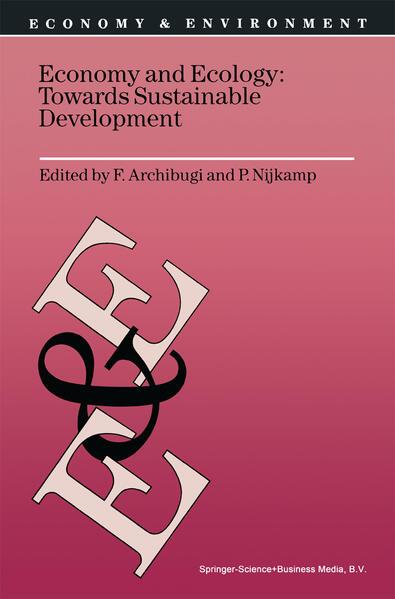 Economy & Ecology: Towards Sustainable Development - Coverbild