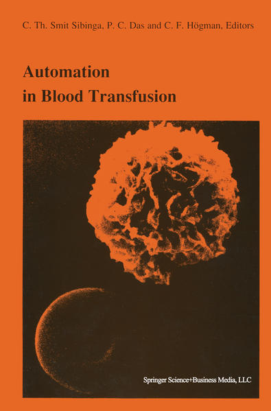 Automation in blood transfusion - Coverbild
