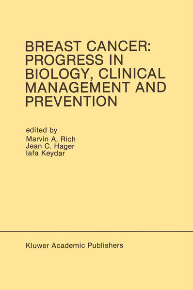 Breast Cancer: Progress in Biology, Clinical Management and Prevention - Coverbild