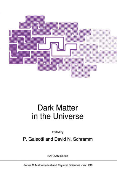 Dark Matter in the Universe - Coverbild