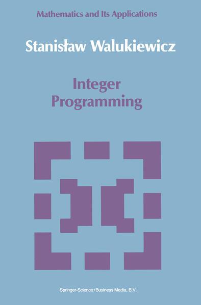 Integer Programming - Coverbild