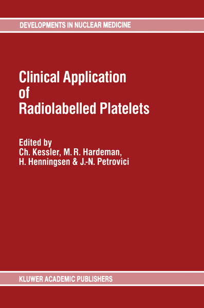 Clinical Application of Radiolabelled Platelets - Coverbild