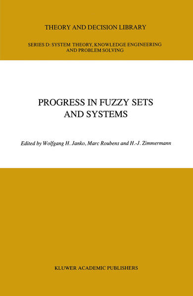 Progress in Fuzzy Sets and Systems - Coverbild