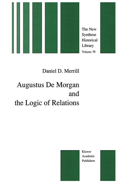 Augustus De Morgan and the Logic of Relations - Coverbild