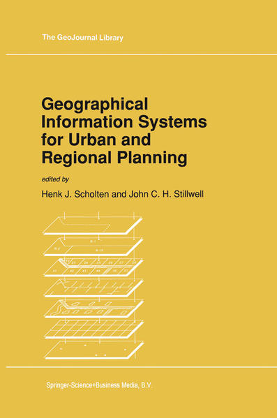 Geographical Information Systems for Urban and Regional Planning - Coverbild