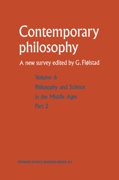 Philosophie et science au Moyen Age / Philosophy and Science in the Middle Ages - Coverbild