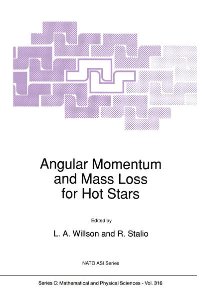 Angular Momentum and Mass Loss for Hot Stars - Coverbild