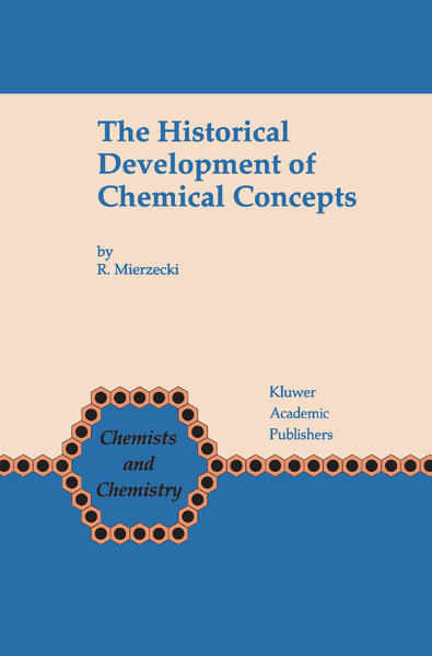 The Historical Development of Chemical Concepts - Coverbild
