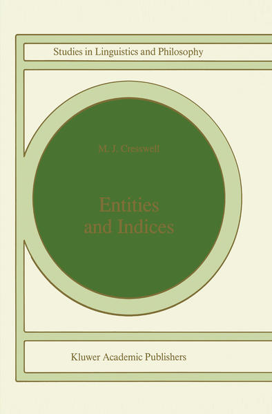 Entities and Indices - Coverbild