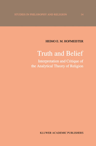 Truth and Belief - Coverbild