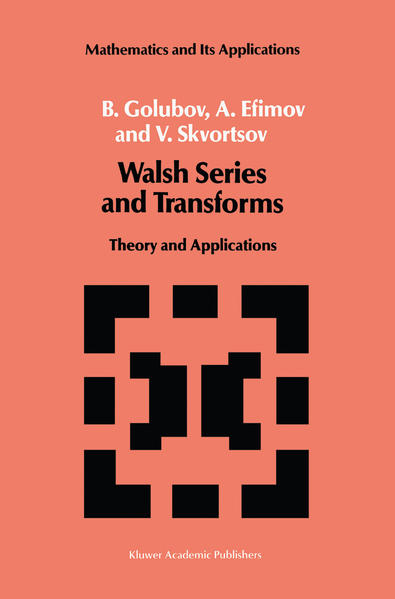 Walsh Series and Transforms - Coverbild